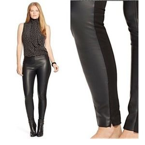 Ralph Lauren faux leather leggings